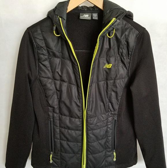 172aad83 Women's New Balance Hooded Black Jacket